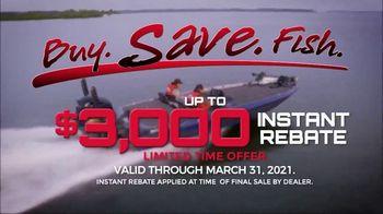 Skeeter Boats TV Spot, 'Eat, Sleep, Fish: $3,000 Instant Rebate'