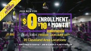 Planet Fitness TV Spot, 'Get Moving: Extended: $0 Enrollment, $10 a Month' - Thumbnail 10