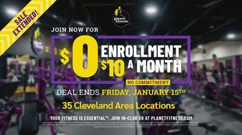 Planet Fitness TV Spot, 'Get Moving: Extended: $0 Enrollment, $10 a Month' - Thumbnail 9