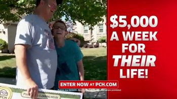 Publishers Clearing House TV Spot, 'Change Your Life: $5,000 a Week for Life' Featuring Brad Paisley - Thumbnail 6