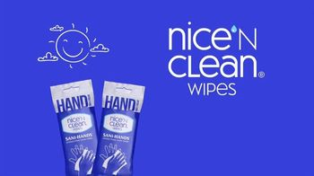 Nice 'N Clean Hand Wipes TV Spot, 'Healthy Shopping: Full Line'
