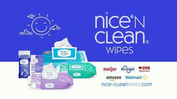Nice 'N Clean Hand Wipes TV Spot, 'Healthy Shopping: Full Line' - Thumbnail 10