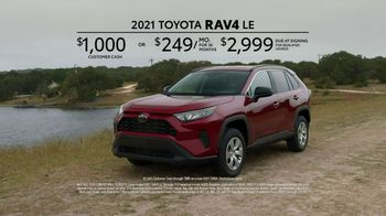 2021 Toyota RAV4 TV Spot, 'Excited About Driving' [T2] - Thumbnail 6