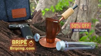BRIPE Coffee Brew Pipe TV Spot, 'Anywhere: 50% Off' - Thumbnail 10