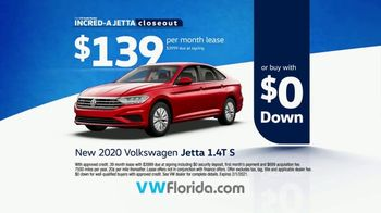 Volkswagen Incred-A Jetta Closeout TV Spot, 'Now In Stock' [T2] - Thumbnail 9