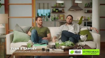 HelloFresh TV Spot, 'Ryan and Ramsey: 10 Free Meals'