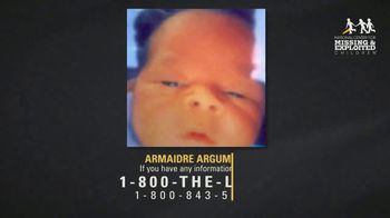 National Center for Missing & Exploited Children TV Spot, 'Armaidre Argumon' - Thumbnail 5