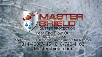MasterShield Gutter Protection Year End Blowout TV Spot, 'Never-Fail Technology' - Thumbnail 7