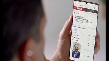 Samsung Galaxy Note20 Ultra TV Spot, 'Life on the Road' Featuring Adrian Wojnarowski, Adam Schefter - Thumbnail 6