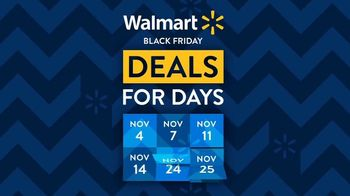 Walmart Black Friday Deals for Days TV Spot, 'Toaster Oven' Song by Aretha Franklin - Thumbnail 1