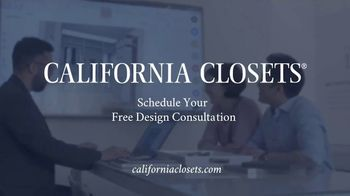 California Closets Friends & Family Event TV Spot, 'Custom Design' - Thumbnail 8