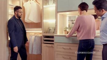 California Closets Friends & Family Event TV Spot, 'Custom Design'