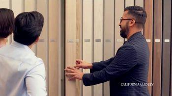 California Closets Friends & Family Event TV Spot, 'Custom Design' - Thumbnail 4