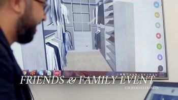 California Closets Friends & Family Event TV Spot, 'Custom Design' - Thumbnail 7