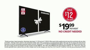 Rent-A-Center TV Spot, 'Black Friday: Samsung Televisions' - Thumbnail 2