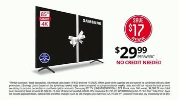 Rent-A-Center TV Spot, 'Black Friday: Samsung Televisions' - Thumbnail 4