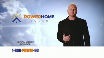 Power Home Solar & Roofing TV Spot, 'Own Your Power: $2,000 Cash Back' - Thumbnail 1
