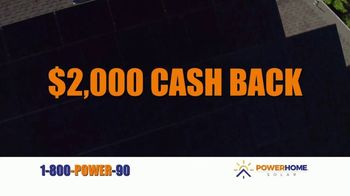 Power Home Solar & Roofing TV Spot, 'Own Your Power: $2,000 Cash Back' - Thumbnail 6