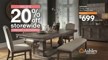 Ashley HomeStore Black Friday Sale TV Spot, '20% Off Storewide and Hot Buys' - Thumbnail 3