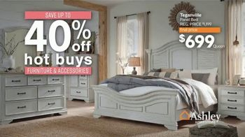 Ashley HomeStore Black Friday Sale TV Spot, '20% Off Storewide and Hot Buys' - Thumbnail 4