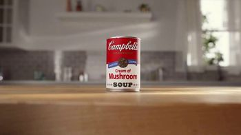 Campbell's Soup Cream of Mushroom TV Spot, 'Creamy Cream of Mushroom' - Thumbnail 1