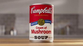 Campbell's Soup Cream of Mushroom TV Spot, 'Creamy Cream of Mushroom' - Thumbnail 10
