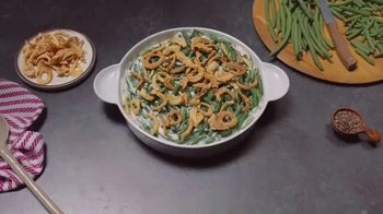 Campbell's Soup Cream of Mushroom TV Spot, 'Green Bean Casserole Season'