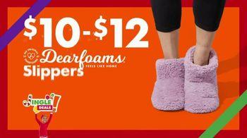 Big Lots Jingle Deals TV Spot, 'Holidays: Jingle Deals: Dearfoarms Slippers' Song by Montell Jordan - Thumbnail 7