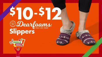 Big Lots Jingle Deals TV Spot, 'Holidays: Jingle Deals: Dearfoarms Slippers' Song by Montell Jordan - Thumbnail 8