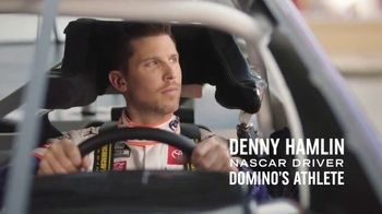 Domino\'s TV Spot, \'Pizza Pit Stop\' Featuring Denny Hamlin