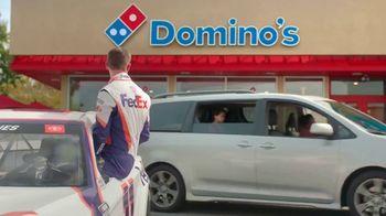 Domino's TV Spot, 'Pizza Pit Stop' Featuring Denny Hamlin - Thumbnail 10