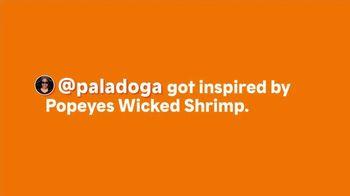 Popeyes Wicked Shrimp TV Spot, 'Paladoga' - Thumbnail 1