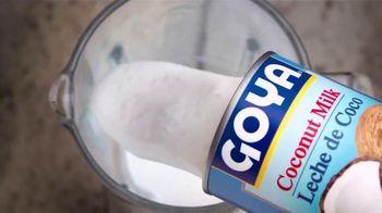 Goya Foods Coconut Milk TV Spot, 'Sweeten Up That Routine' - Thumbnail 8