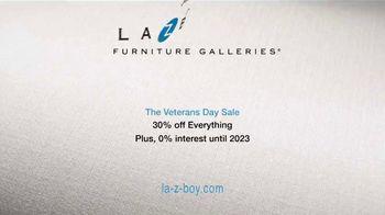 La-Z-Boy Veterans Day Sale TV Spot, '30% Off Everything' - Thumbnail 9