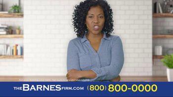 The Barnes Firm TV Spot, 'Insurance Wasn't Fair' - Thumbnail 2
