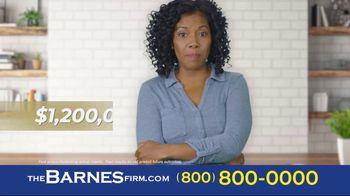 The Barnes Firm TV Spot, 'Insurance Wasn't Fair' - Thumbnail 3