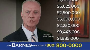 The Barnes Firm TV Spot, 'Hurt in a Car Accident' - Thumbnail 5