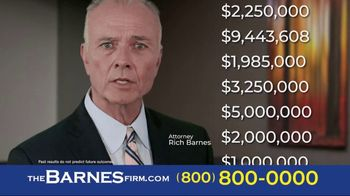 The Barnes Firm TV Spot, 'Hurt in a Car Accident' - Thumbnail 6