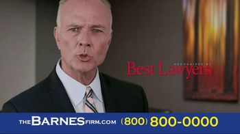 The Barnes Firm TV Spot, 'Hurt in a Car Accident' - Thumbnail 7