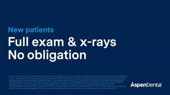 Aspen Dental TV Spot, 'Sharing Smiles Together: Free Exam and X-Rays' - Thumbnail 3