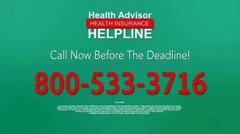The Health Advisors Helpline TV Spot, 'Recent Events: Open Enrollment' - Thumbnail 10
