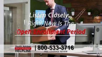 The Health Advisors Helpline TV Spot, 'Recent Events: Open Enrollment' - Thumbnail 2