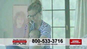 The Health Advisors Helpline TV Spot, 'Recent Events: Open Enrollment' - Thumbnail 3