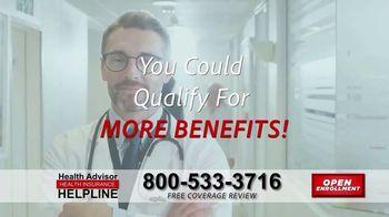 The Health Advisors Helpline TV Spot, 'Recent Events: Open Enrollment' - Thumbnail 4