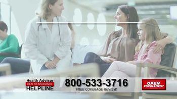 The Health Advisors Helpline TV Spot, 'Recent Events: Open Enrollment' - Thumbnail 5