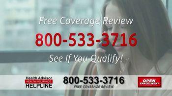 The Health Advisors Helpline TV Spot, 'Recent Events: Open Enrollment' - Thumbnail 7