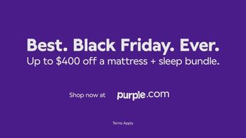 Purple Mattress Best Black Friday Ever TV Spot, 'Angry Memory Foam' - Thumbnail 10