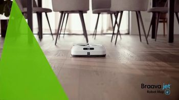 iRobot Braava Jet M6 TV Spot, 'Goodbye Cleaning, Hello Clean' - Thumbnail 2