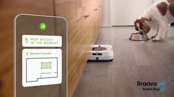 iRobot Braava Jet M6 TV Spot, 'Goodbye Cleaning, Hello Clean' - Thumbnail 3