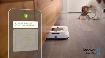 iRobot Braava Jet M6 TV Spot, 'Goodbye Cleaning, Hello Clean' - Thumbnail 4